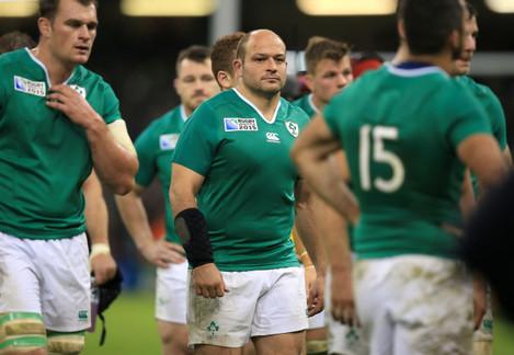 Rugby Union - Rugby World Cup 2015 - Quarter Final - Ireland v Argentina - Millennium Stadium