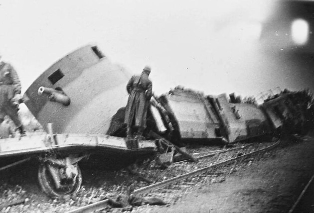 during-wwii-the-germans-derailed-this-polish-train-with-a-bomb-dropped-by-the-luftwaffe-it-was-deserted-next-to-the-tracks-as-the-german-soldiers-neared