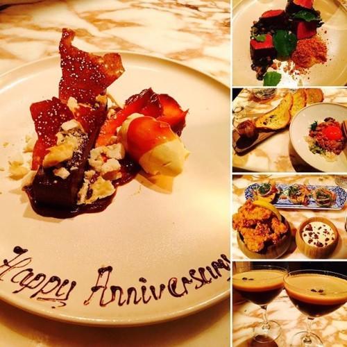 Food porn O'clock!! #chilternfirehouse #anniversary #foodporn #heaven #delicious