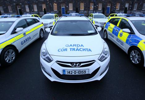 15/01/2015. Garda . Pictured new Garda cars in Gar