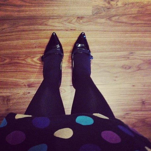 1st sign of #winter: #BlackTights!