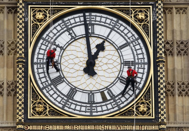 Britain Parliament Great Clock