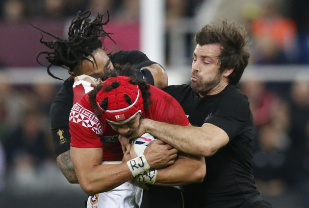 Britain Rugby WCup New Zealand Tonga