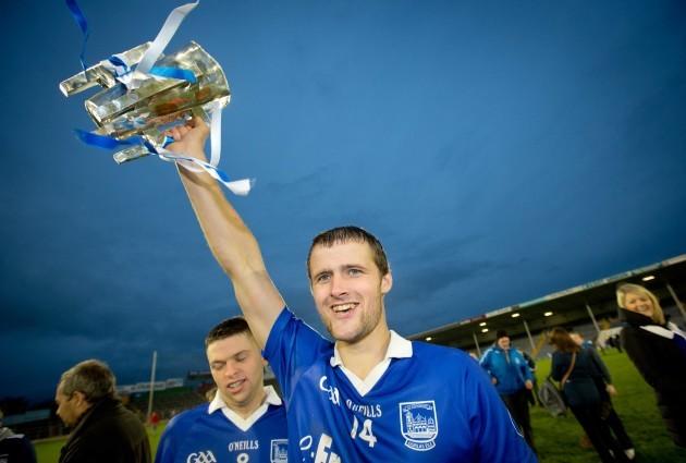 Pa Bourke raises the Dan Breen Cup