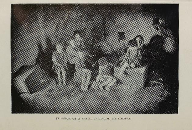 Prog 3  - Cruachas i gConamara - Mansion House Committee - Interior of Cabin in Carraroe
