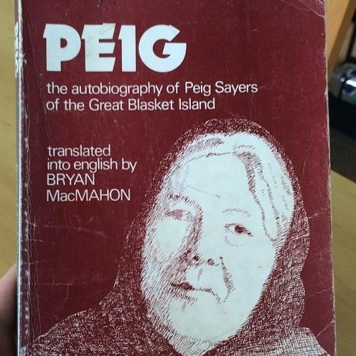 My bae'. #Peig #Sayers #Bae #beure #gaeilge