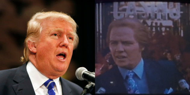 Biff Tannen was based on Donal...