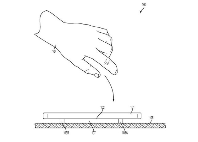 iPhone bounce patent