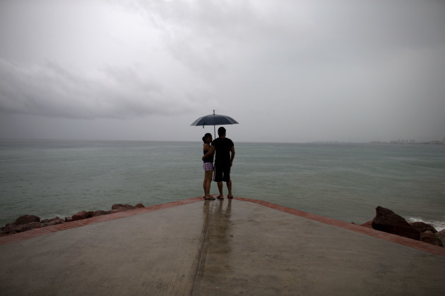 APTOPIX Mexico Tropical Weather