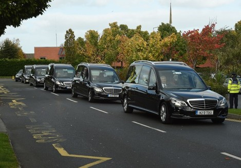 Dublin travellers halting site fire funerals