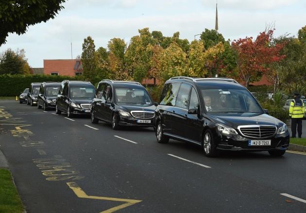 Dublin travellers halting site fire funerals