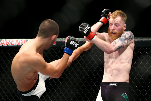 Paddy Holohan in action Louis Smolka