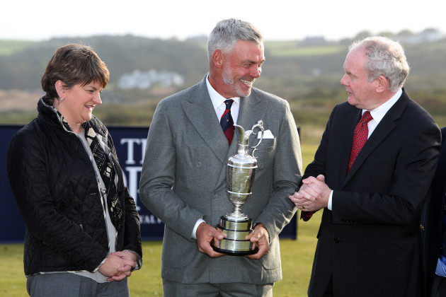 Golf - Dunlunce Links Championship Course Press Conference - Royal Portrush Golf Club