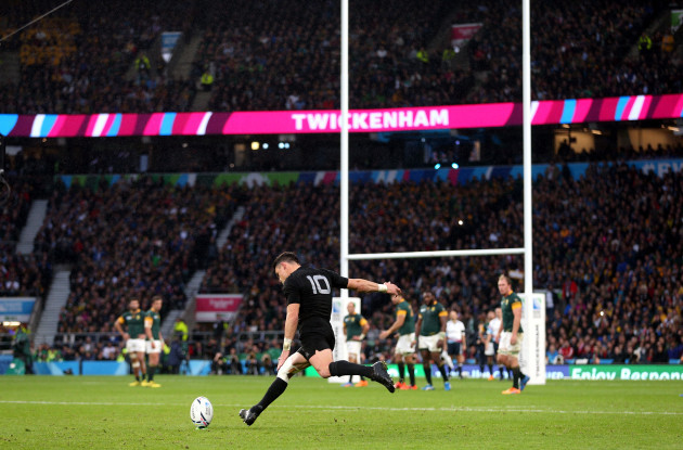 Rugby Union - Rugby World Cup 2015 - Semi Final - South Africa v New Zealand - Twickenham Stadium