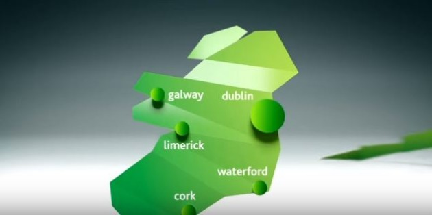 Youtube Map Of Ireland.The New Leap Card Ad Made An Absolute Hames Of The Map Of Ireland