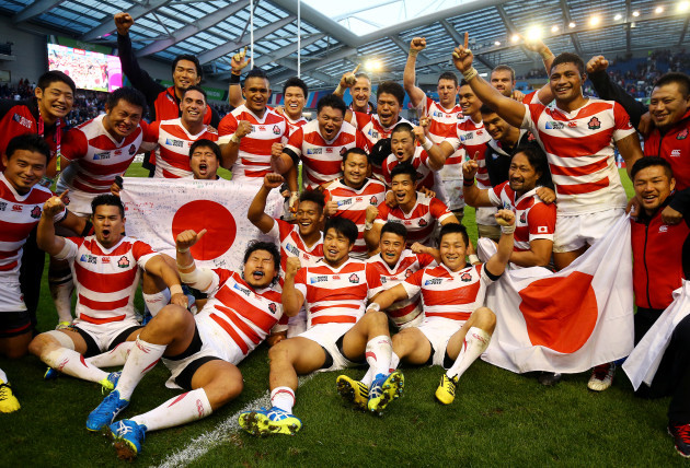 Rugby Union - Rugby World Cup 2015 - Pool B - South Africa v Japan - Brighton Community Stadium