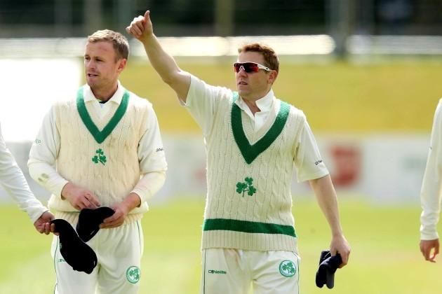 Niall O'Brien celebrates