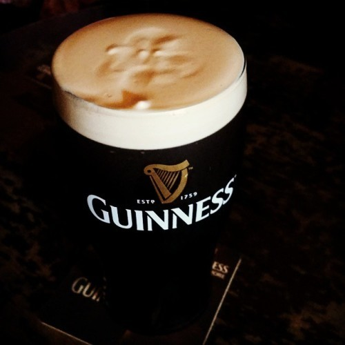 Gotta have a Guinness....