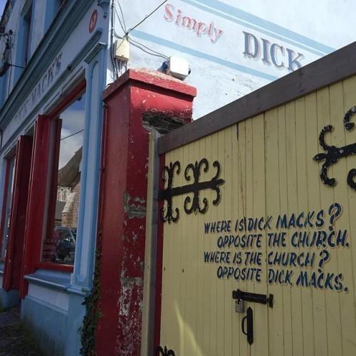 But, of course. #dickmacks #Dingle