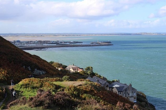 Lovely weekend visiting my cousin and his family in Ireland! #Ireland #travel #seaside #coastalwalk #howth #thefingalway