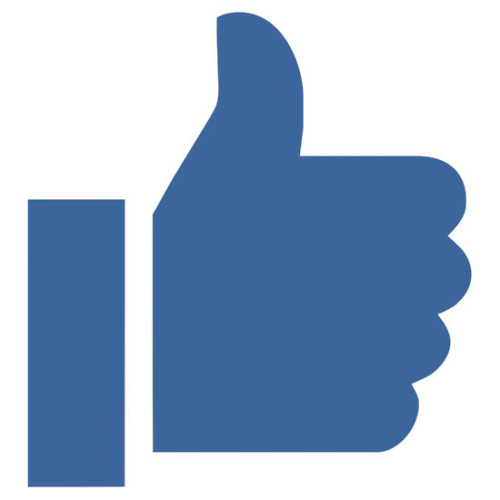 facebook needs to get rid of that ridiculous blue thumb right now