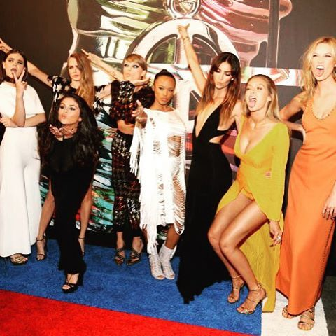 Being ourselves at the VMAs.