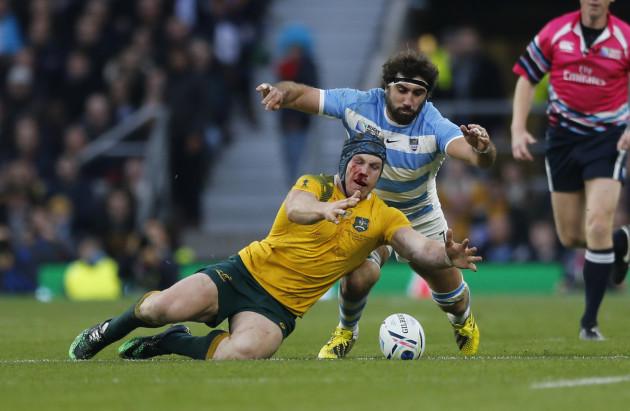 Britain Rugby WCup Argentina Australia