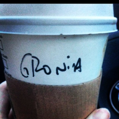 Don't welcome Monday with a groan, Grainne! #grainne #irishnames #starbucks #starbucksfail #irish