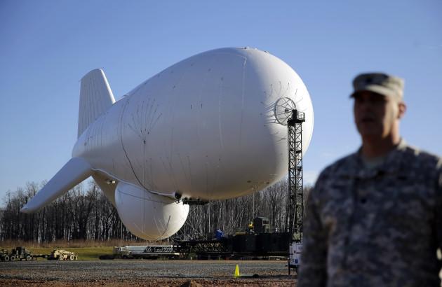 Military Surveillance Balloons
