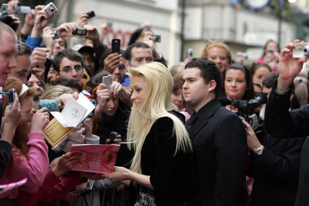 Paris Hilton In Ireland