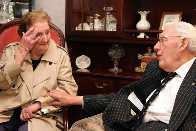 The Rev Ian Paisley meets abducted and murdered teenager's mother
