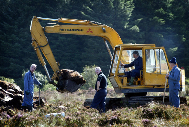 Digging for the remains of Columba McVeigh