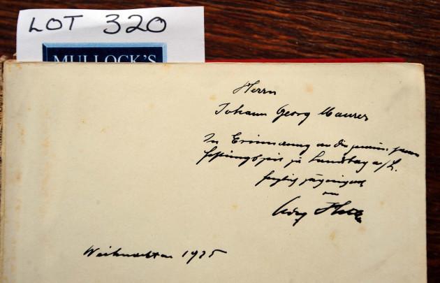 Auction of Hitler memorabilia