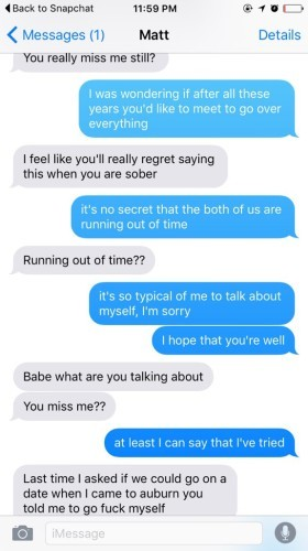 what to text an ex boyfriend to get him back