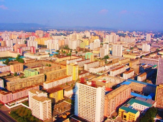 this-shot-of-the-capital-city-of-pyongyang-was-taken-in-flight-upon-landing-their-cameras-and-phones-were-searched-for-gps-capability-and-their-passports-were-seized-until-their-departure-the-scariest-part-of