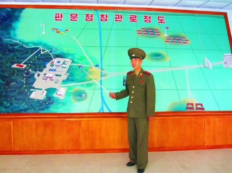 justin-and-anna-were-guided-through-the-area-by-senior-military-personnel-who-continued-to-describe-how-the-democratic-peoples-republic-of-korea-was-prepared-to-if-necessary-unleash-total-nuclear-war-on-the-j