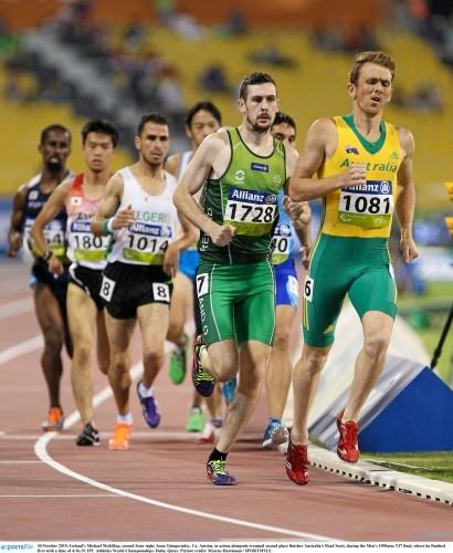 IPC Athletics World Championships - Friday 30th October