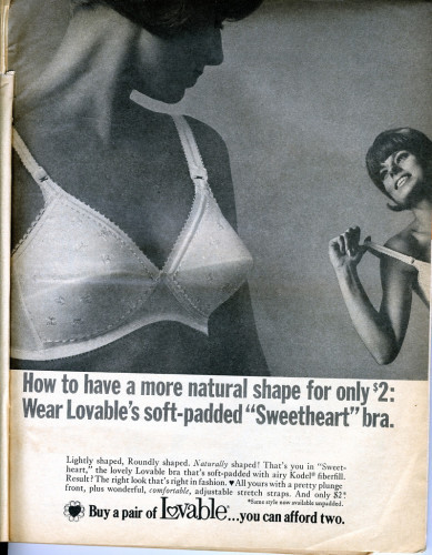 Lovable Sweetheart bra - 1967