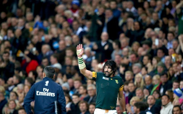 Victor Matfield goes off