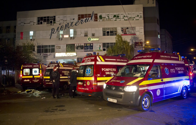 Romania Explosion