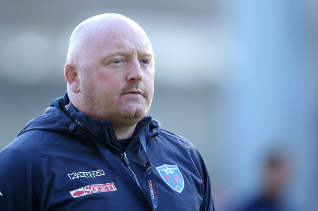 Grenoble's Head Coach Bernard Jackman
