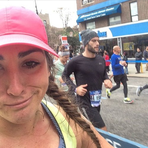 But it's all coming back to me #tcsnycmarathon #RunSelfieRepeat #nycmarathon #BAESoftheNYCmarathon