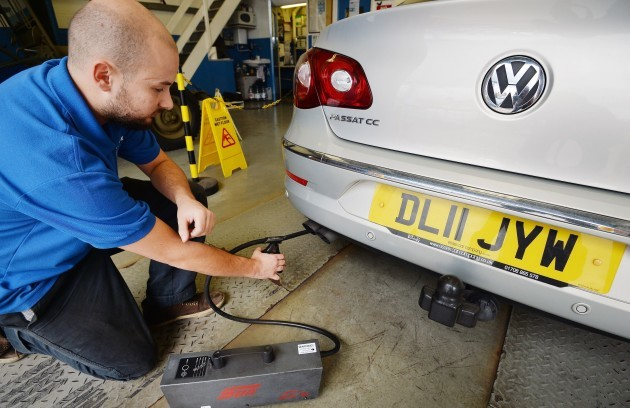 VW emission tests rigging