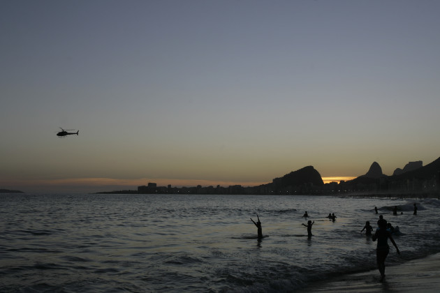 Brazil New Year Copacabana