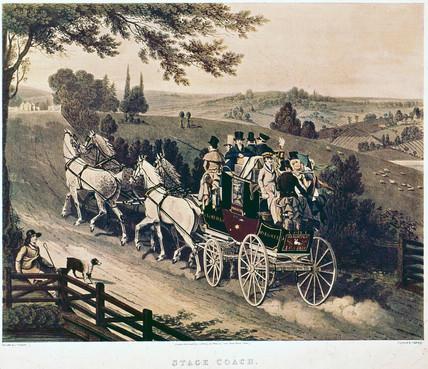 London_to_Brighton_stage_coach,_1822