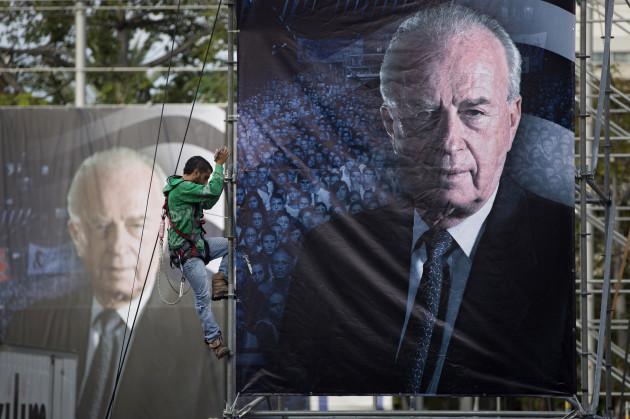 Mideast Israel Rabins Legacy