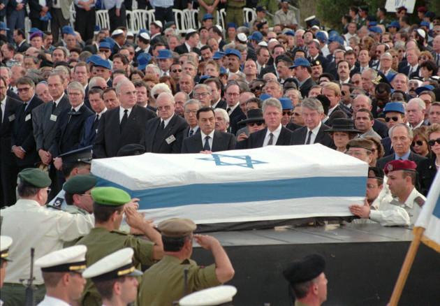 MIDEAST ISRAEL RABIN