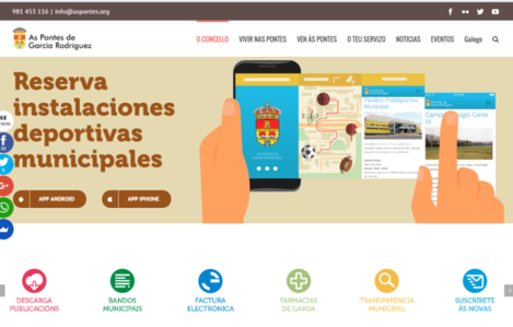 official website of as pontes