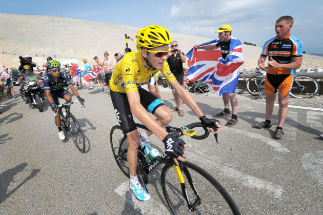 Cycling - Tour de France 2013 - Stage Fifteen