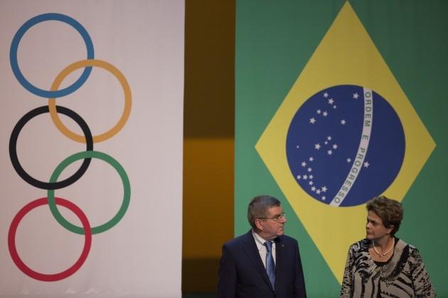 Brazil Rio 2016 OLY 1 Year Away